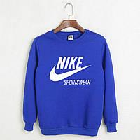 Свитшот ярко-синий Nike Sportswear