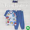 Пижамы детские, на мальчика 92см, 2210лак, хлопок-климакотон, в наличии 92,104,116 Рост
