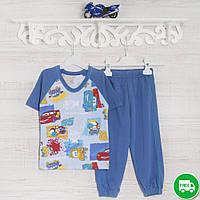 Пижамы детские, на мальчика 116см, 2210лак, хлопок-климакотон, в наличии 92,104,116 Рост