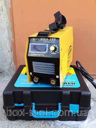 Сварочный инвертор Shyuan MMA-280M (кейс+дисплей), фото 2