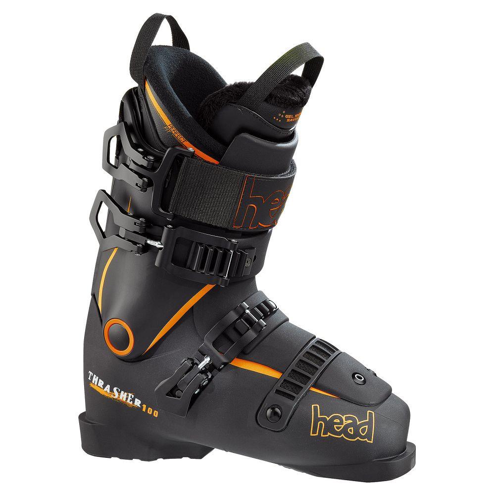 Горнолыжные ботинки Head THRASHER 100 BLACK-ORANGE (MD) 27.5
