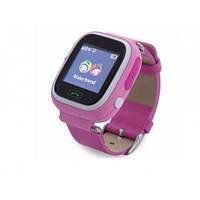 GPS часы Q100 с сенсорным экраном (Розовые)
