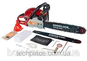 Бензопила GoodLuck GLS 5200 (2 шины, 2 цепи, в металле) , фото 3