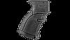 Рукоятка пистолетная FAB для АК47 обрезиненная,черная AGR47B