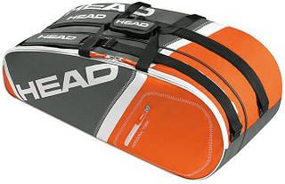 Надежная теннисная сумка-чехол на 6 ракеток  283345 Core 6R Combi  ANOR HEAD