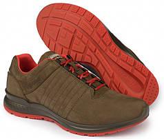 Чоловічі черевики Grisport (Red Rock) 42811 нубук коричнево-червоні