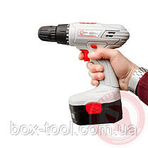 Шуруповерт аккумуляторный 18В, 1 аккумулятор, 1.2Ач, 1-10 INTERTOOL DT-0312, фото 3