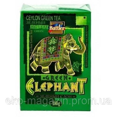 """Чай Battler """"Зеленый слон"""" 100гр"""