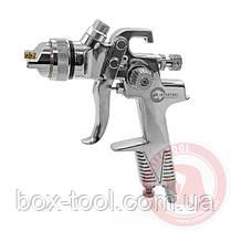 Пистолет покрасочный пневматический HVLP, форсунка 1,3 мм, В/Б, 600 мл. 3,5-5 бар INTERTOOL PT-0106, фото 2
