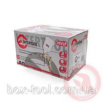 Пистолет покрасочный пневматический HVLP, форсунка 1,3 мм, В/Б, 600 мл. 3,5-5 бар INTERTOOL PT-0106, фото 3