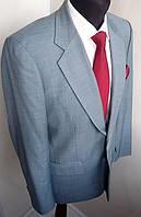 Стильный мужской костюм голубой выпускной свадебны