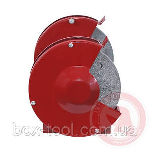 Станок точильный настольный с двумя шлифкругами 120 Вт, 2950 об/мин; 125х16х12,7 мм INTERTOOL DT-0806, фото 2