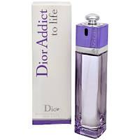 Женская туалетная вода Christian Dior Addict To Life (Кристиан Диор Аддикт Ту Лайф), 100 мл.