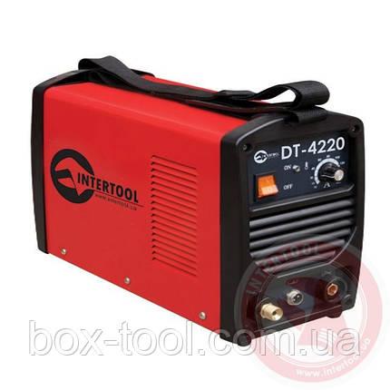 Инвертор cварочный для аргоно-дуговой сварки 230В, 4.5кВт, 10-200А INTERTOOL DT-4220, фото 2