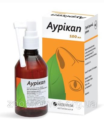 Аурикап спрей - для ухода за ушами 100 мл ( Артериум)