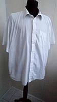 Рубашка белая B&H Размер 17.5 короткий рукав