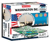 Объемный пазл Вашингтон, 1100 элементов, 4D Cityscape (40018)