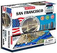 Объемный пазл Сан-Франциско, 1130 элементов, 4D Cityscape (40044)