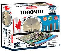 Объемный пазл Торонто, 1000 элементов, 4D Cityscape (40016)
