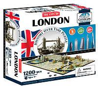 Объемный пазл Лондон, 1200 элементов, 4D Cityscape (40012)
