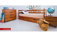 Деревянная односпальная кровать  с ящиками  Ева  - 0,7