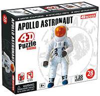 Модель астронавта космического корабля Аполлон - конструктор, 1:20, 4D Master (26370)