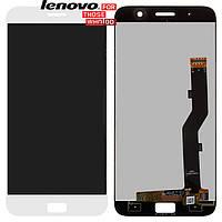 Дисплейный модуль (дисплей + сенсор) для Lenovo Zuk Z1, белый, оригинал