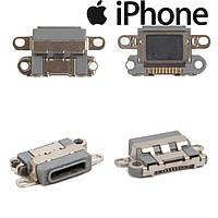 Коннектор зарядки для Apple iPhone 6S Plus, черный, оригинал