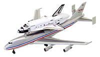 Модель Спейс Шаттл на Boeing 747 - конструктор, 1:450, 4D Master (26375)
