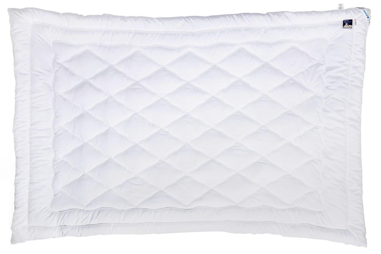 Одеяло лебяжий пух Руно микрофибра демисезонное 140х205 полуторное