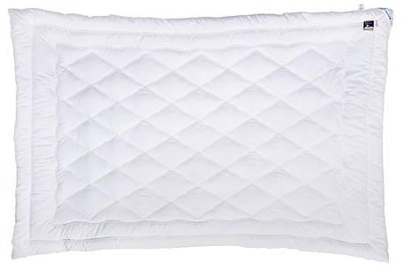 Одеяло лебяжий пух Руно микрофибра демисезонное 140х205 полуторное, фото 2