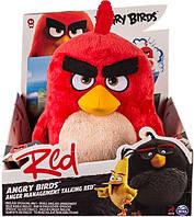 Энгри Бердз мягкая игрушка Ред (30 см) со звуковыми эффектами, Angry Birds (SM90511)