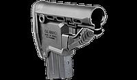 Приклад FAB для M4 с держателем магазина, черный (без буферной трубы) GLMAGB , фото 1