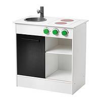 """IKEA """"NYBAKAD"""" Детская кухня, белый, 49x30x50 см"""