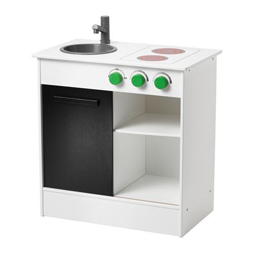 "IKEA ""NYBAKAD"" Детская кухня, белый, 49x30x50 см - IKEA-BOOM в Киеве"