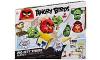 Angry Birds средний игровой набор Ред атакует город свинок (SM90504-1)