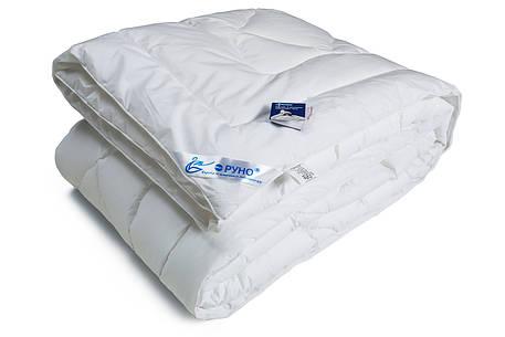 Одеяло лебяжий пух Руно тик демисезонное 140х205 полуторное, фото 2