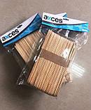 Деревянный шпатель для нанесения воска Axces 48 шт CVL /55-0, фото 2