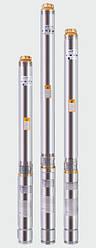 Струменевий свердловинний насос EUROAQUA 75QJD122-0,55 + контрольбокс
