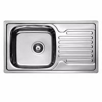 Кухонная мойка ULA HB 7204 ZS 780*430 satin