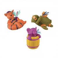 Трио брызгунчиков: медведь, слон и черепаха, набор для игры в ванной, Battat (BX3113GTZ-1)