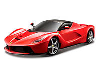 Авто-конструктор - LaFerrari (красный) 1:24, Bburago (18-26001-1)