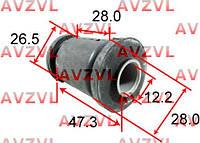 Сайлентблок переднего рычага передний NISSAN MICRA K11 93 - (12*27*47)