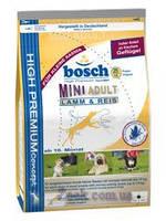 Bosch Adult Mini Lamb&Rice 15кг Сухой корм для взрослых собак малых пород с ягненком и рисом