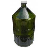 Бутыль стеклянный 22 л (с пластиковой крышкой)