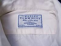 Фирменная рубашка Charles Tyrwhitt LLP молочная