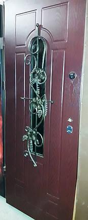 Входная дверь модель Т-1-3 217 vinorit-01 КОВКА, фото 2