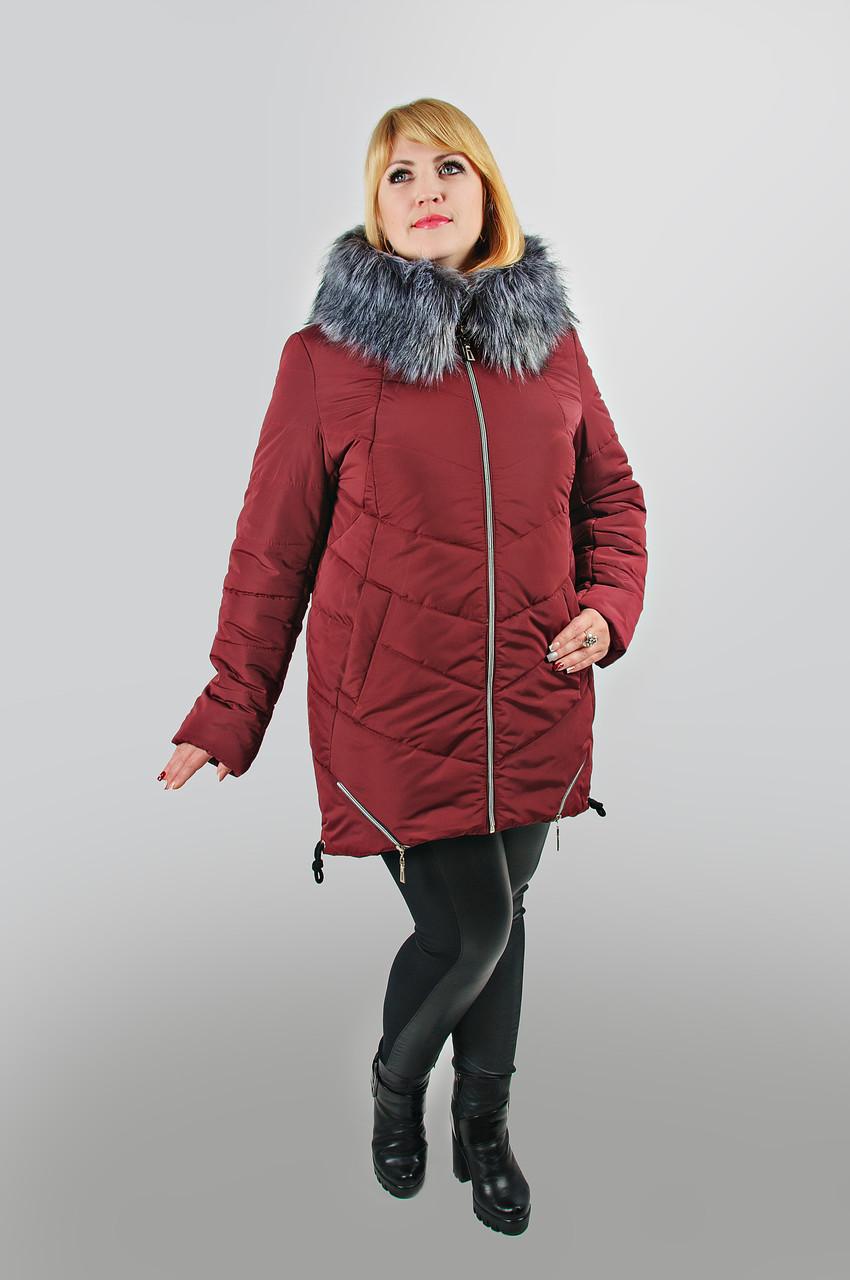 6f1a70bec Молодежная куртка Современная размеры 48, 50, 52, 54, 56, 58 бордовый ,  купить