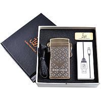 Зажигалка подарочная (Электроимпульсная, USB) №4760-2