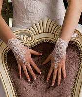 Свадебные перчатки 15-111 (короткие)